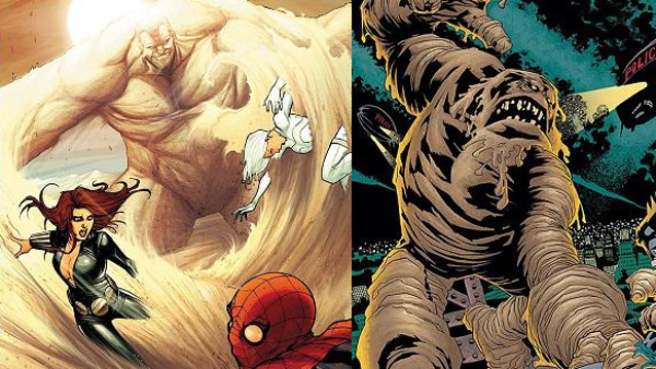 Sandman VS Clayface