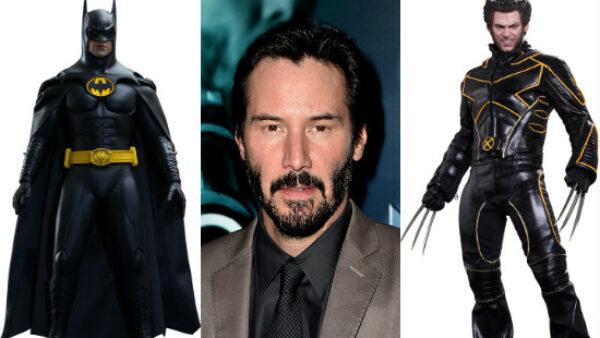Keanu Reeves Wolverine and Batman