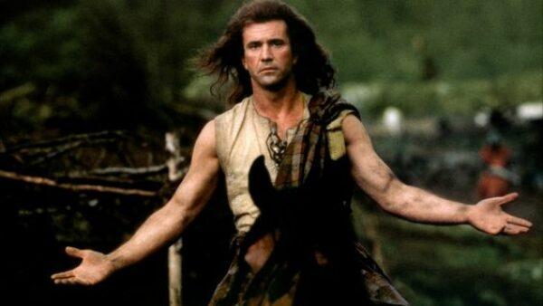 best Mel Gibson movie Braveheart 1995