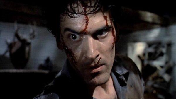 Bruce Campbell Horror Flick Evil Dead 2 1987