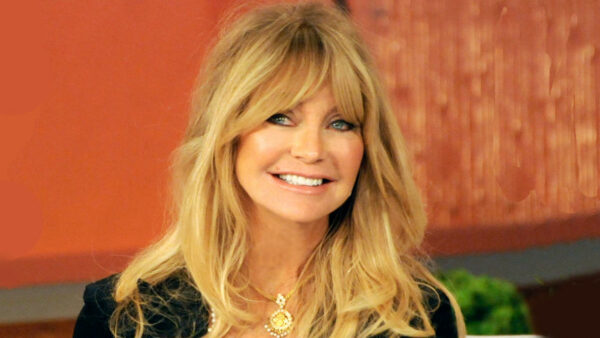 The beautiful Actress Goldie Hawn