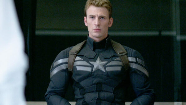 Chris Evans in Captain America The Winter Soldier 2014