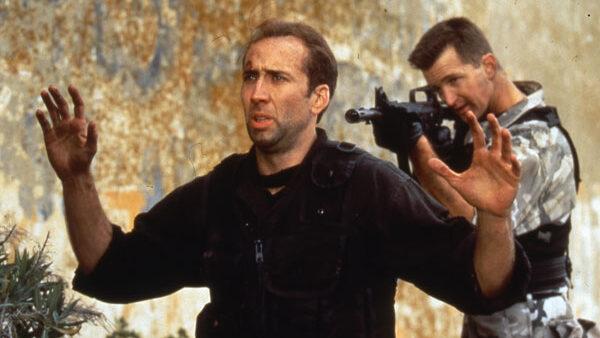 Nicolas Cage movie The Rock 1996
