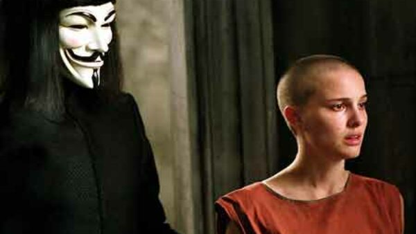 Natalie Portman in V for Vendetta 2005