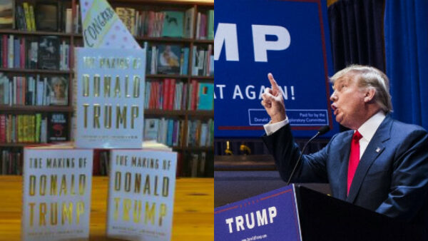 Donald Trump is New York Times Best Selling Author