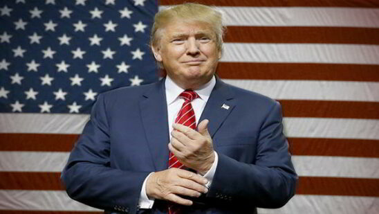 Donald Trump President Of United States of America