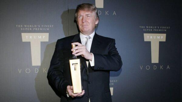 Trump Vodka Brand