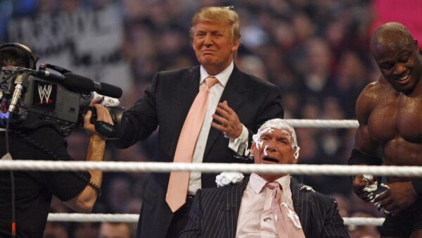 Donald Trump is in WWE Hall of Fame 1
