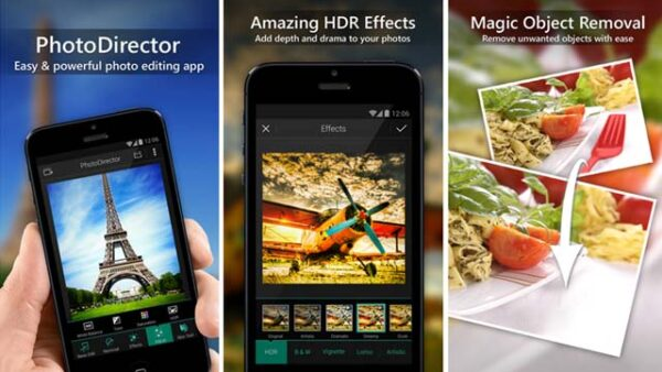 PhotoDirector App on Android