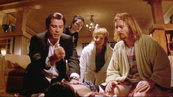 Best Quentin Tarantino Movie Pulp Fiction 1994