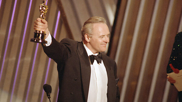 anthony hopkins wins oscar