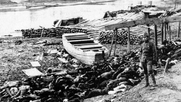 largest civilian loss of life world war 2