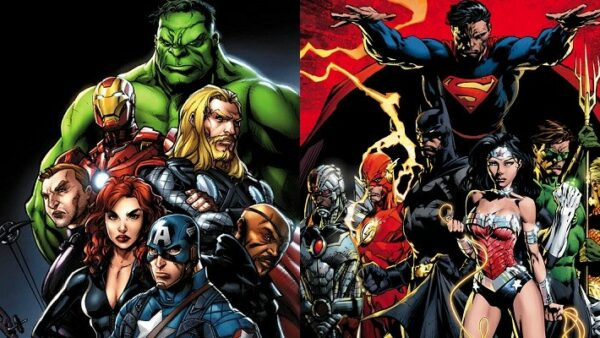 Marvel Characters Stolen from DC Comics The Avengers VS Justice League