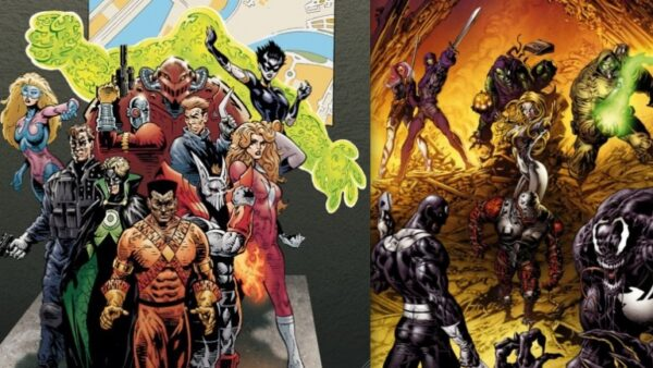 Thunderbolts VS Suicide Squad Marvel Characters Stolen from DC Comics