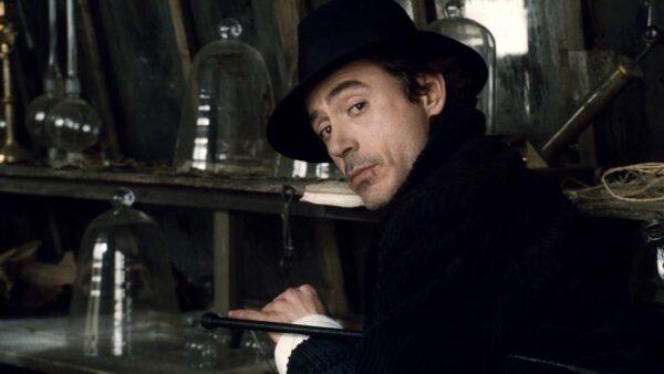 Robert Downey Jr Flick Sherlock Homes 2009