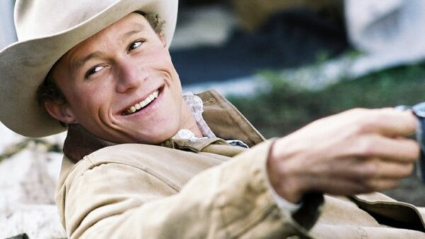 Heath Ledger in Brokeback Mountain 2005