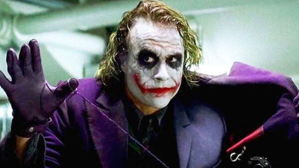 Heath Ledger in The Joker Movie