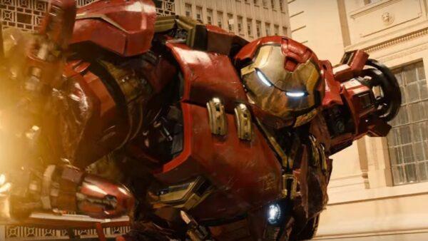 hulkbuster armor infinity war