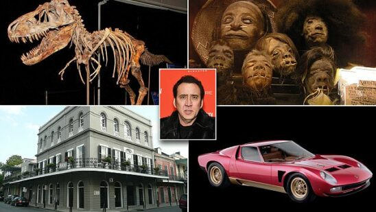 Most Expensive Things Bought by Nicolas Cage