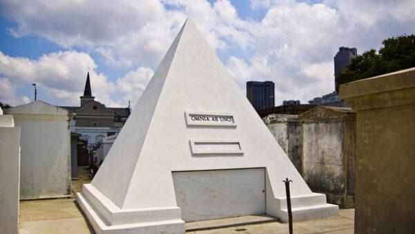 Pyramid Tombstone