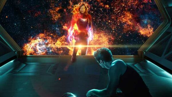 How Did Captain Marvel know where to find Tony and Nebula