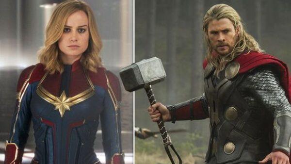 Thor or Captain Marvel