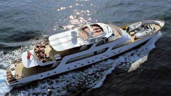 Four Luxury Yachts 1
