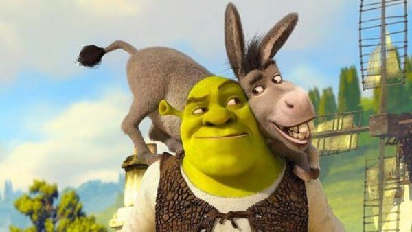 Eddie Murphy in Shrek 2001