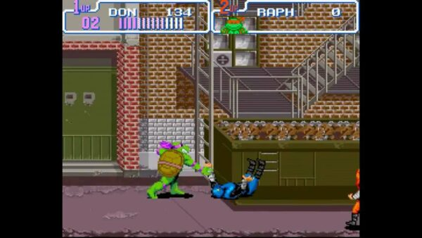 Teenage Mutant Ninja Turtles Super Nintendo