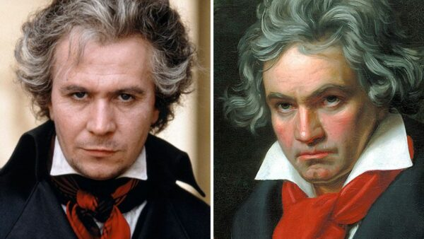 Gary Oldman As Ludwig van Beethoven