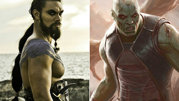 Jason Momoa Drax the Destroyer