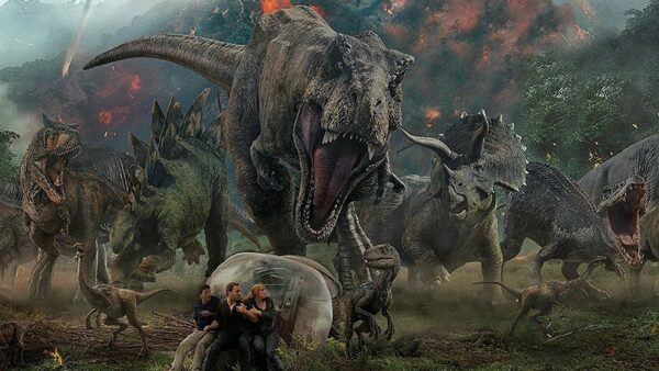 Overhyped Characters Barely in the Movie Dinosaurs Jurassic Park