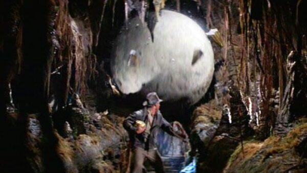 Boulder Scene Raiders of the Lost Ark