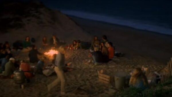 Jaws (1975) opening scene