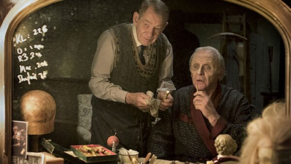 Anthony Hopkins in The Dresser 2015