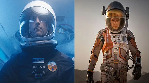 The Martian (2015) & Approaching the Unknown (2016)