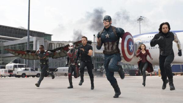 Marvel Cinematic Universe Captain America Civil War 2016