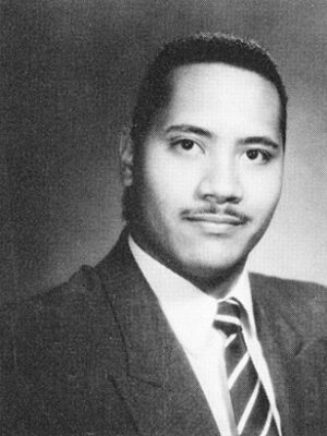 Dwayne Johnson High School Pic
