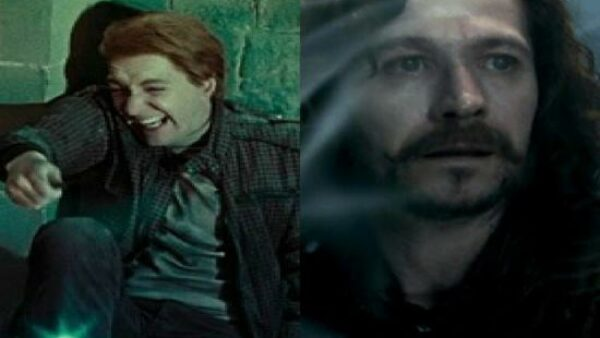 Fred and George Threw Snow at Voldemort's Face