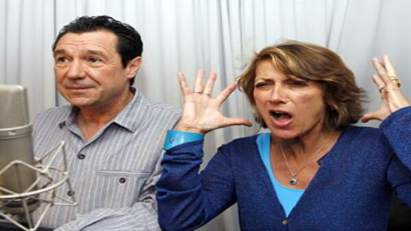 French Voice Actors of Homer and Marge Married in Real Life