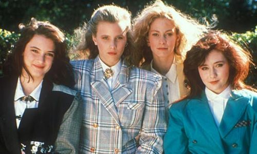 Heathers 1988 black comedy