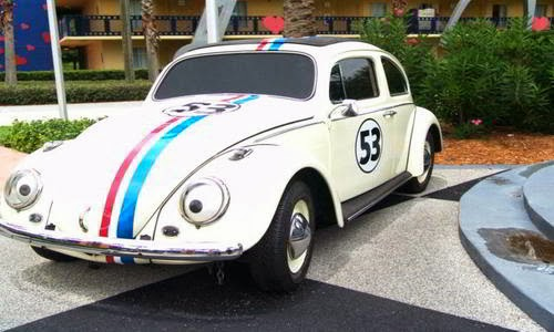Herby Famous Movie Car