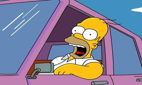 Homer Simpson from The Simpsons