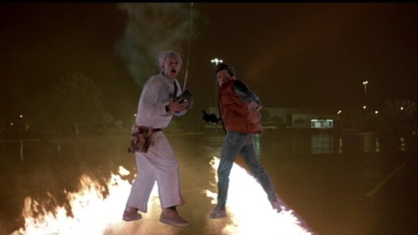 How Marty McFly Doc Brown Actually Met