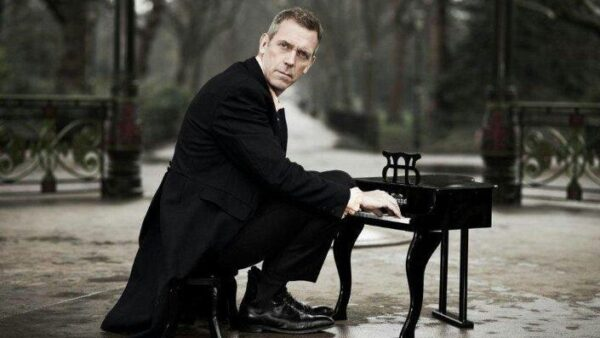 Hugh Laurie Actor Playing Piano