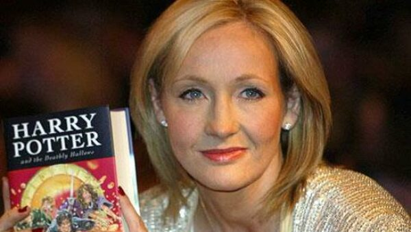 J.K. Rowling is the First Billionaire Author
