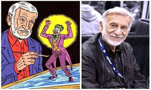 Jerry Robinson was the Mind behind The Joker