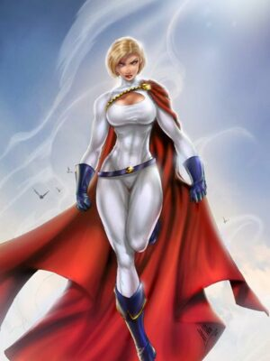 Kara Zor-L as Power Girl in fictional DC