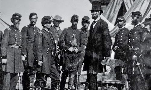 Lincoln was almost shot during civil war