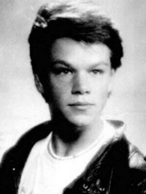 Matt Damon High School Pic